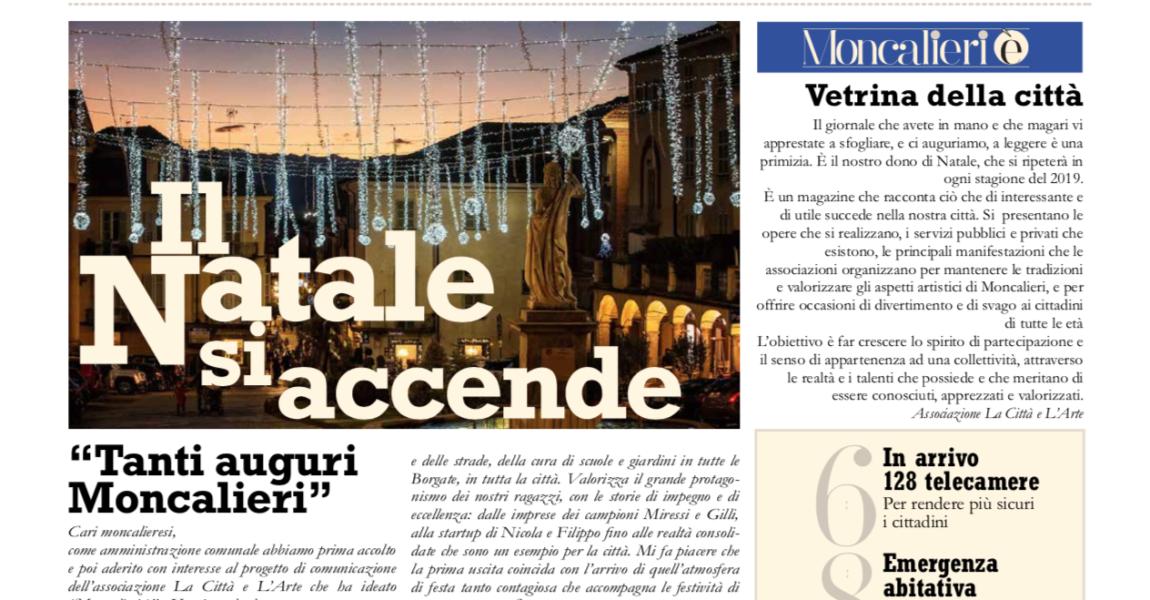 """Ecco """"Moncalieri è"""", giornale di Comunità"""
